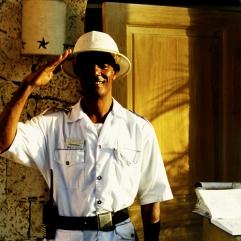 """Dominican Republic """"Door man"""""""