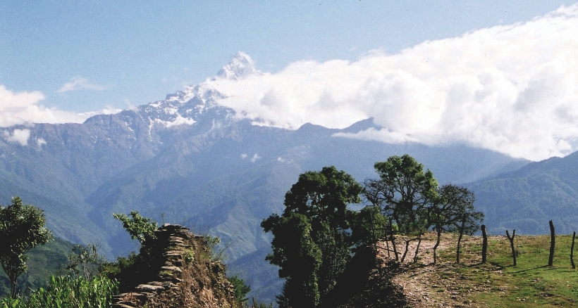 Machapuchare/The Fishtail Mountain