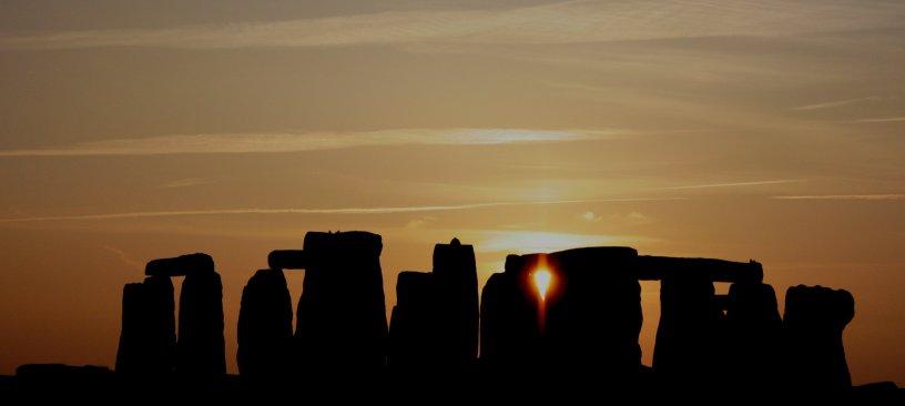 """""""Stonehenge at sunset"""""""