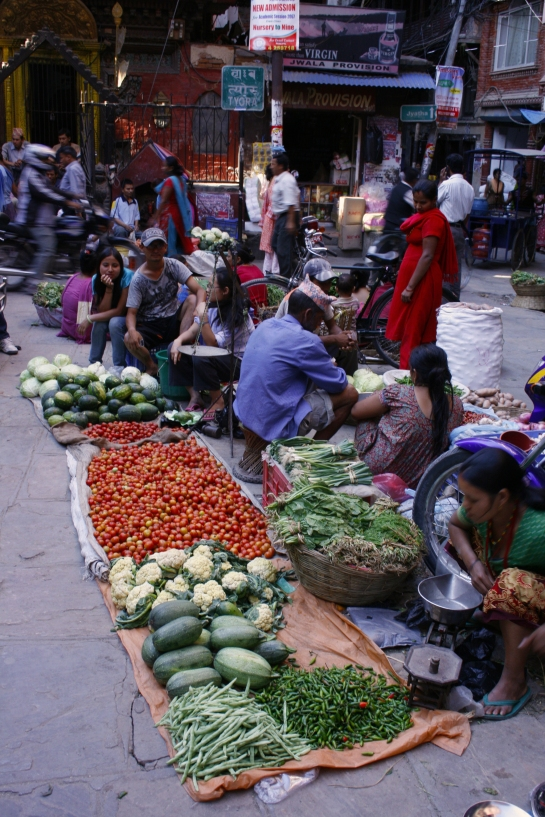Thamel market