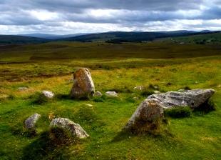 Stone Circle at Lairg