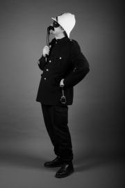Thinking Policeman