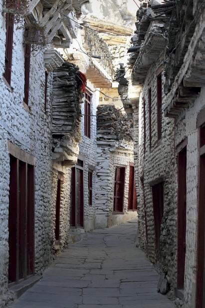 Marpha streets
