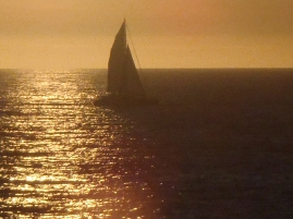 Sail against the sun
