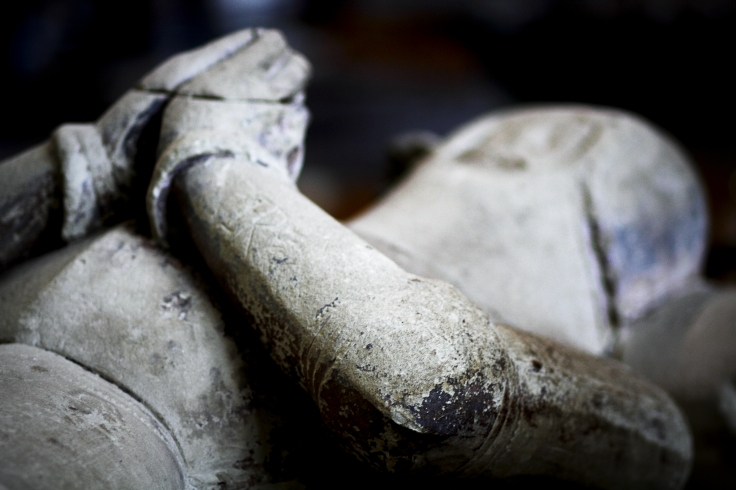 Knight's grave - Salisbury Cathedral