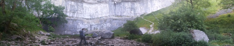 Panoramic of Malhamn Cove