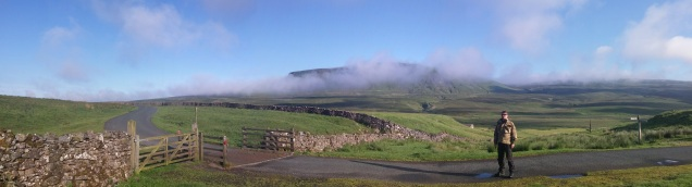 Panoramic Pen-y-ghent