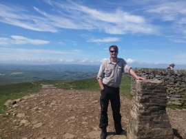 At top of Pen-y-ghent