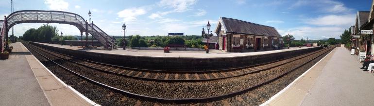 Settle Train Station