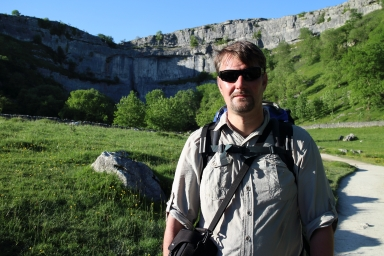 Myself at Malham cove