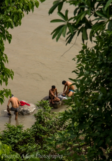 River Bathers